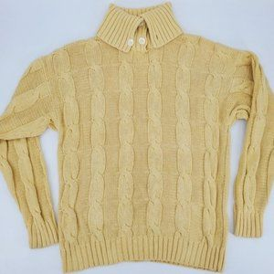 Kenneth Gordon Lady Wakefield Lisle Yellow Sweater
